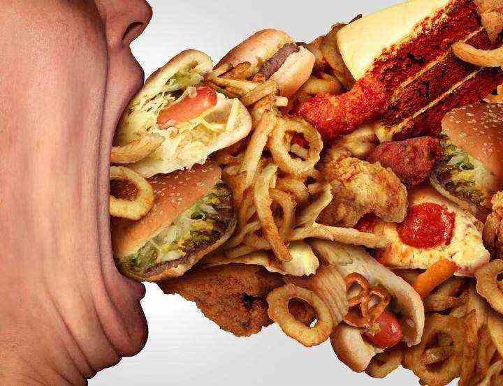 رژیم لاغری هندی - غذاهای ناسالم