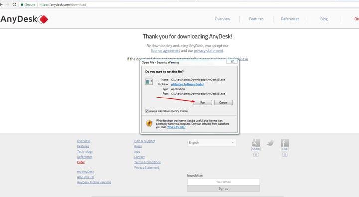Save File - دسترسی به کامپیوتر از راه دور