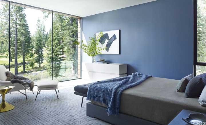 رنگ اتاق خواب - آبی