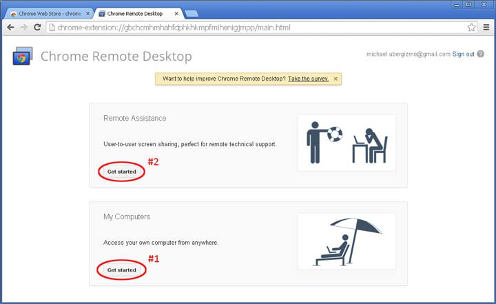 Chrome Remote Desktop - دسترسی به کامپیوتر از راه دور