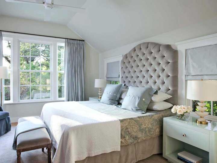 رنگ اتاق خواب - خاکستری