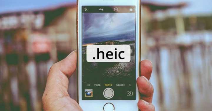 از فرمتهای جدید HEIF و HEVC استفاده کنید