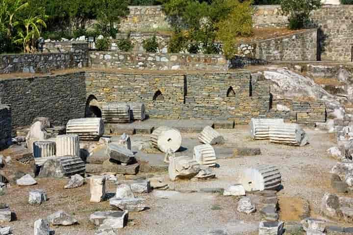 آرامگاه موسول در بدروم ترکیه دیدنی است.
