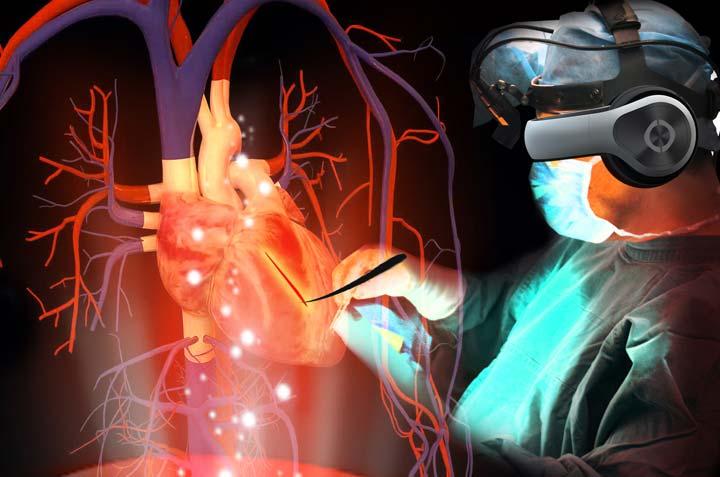 واقعیت مجازی در پزشکی- واقعیت مجازی