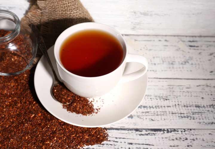 چای لاغری - چای رویبوس از دم نوش هایی است که به لاغری کمک می کند.