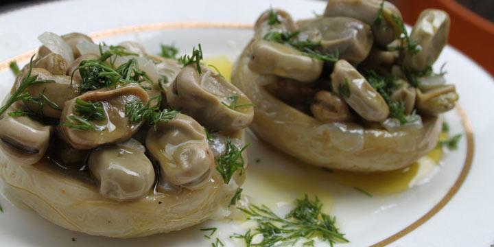 باکلالی انگینار-غذاهای محلی ترکیه