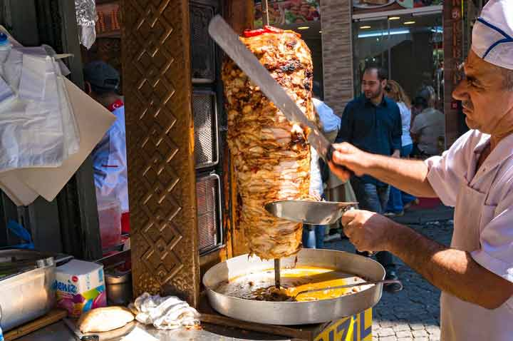 دونر-غذاهای محلی ترکیه