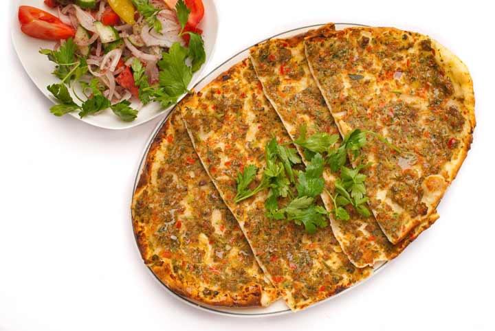 لاهماجون-غذاهای محلی ترکیه