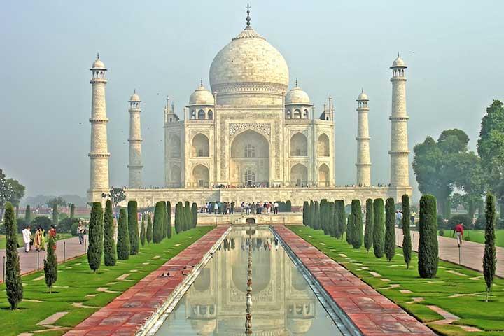 تماشای تاج محل در سفر به هند