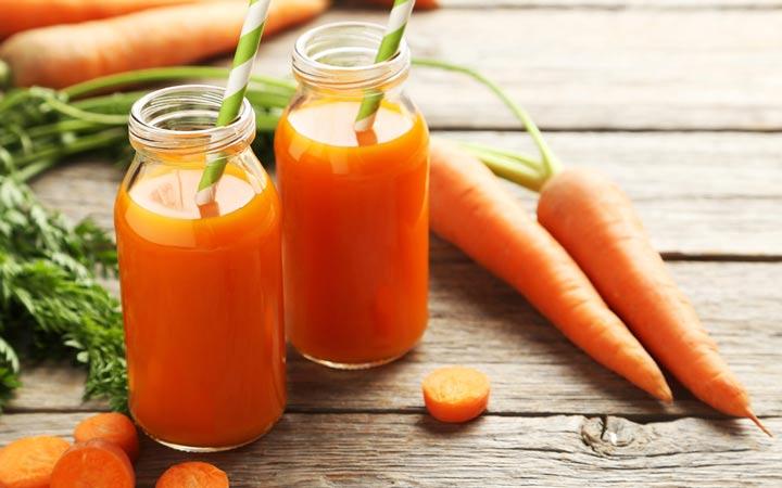 آب هویج - فواید آب هویج