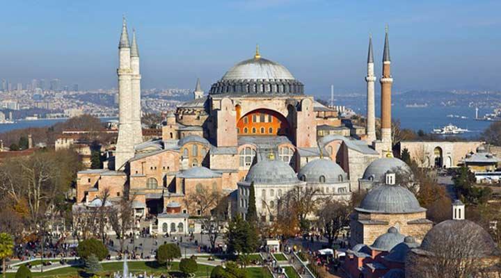 جاهای دیدنی ترکیه - اَیا صوفیه