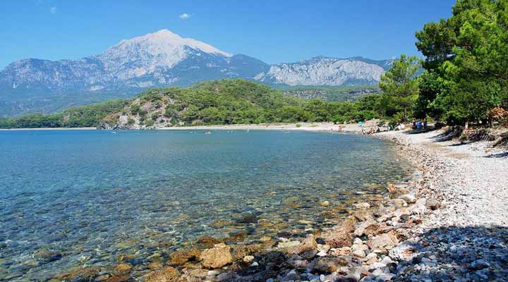 سواحل ترکیه - ساحل فاسِلیس