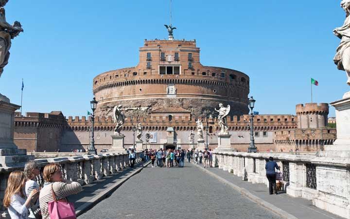 جاهای دیدنی رم - قلعهی سِنت آنجِلو