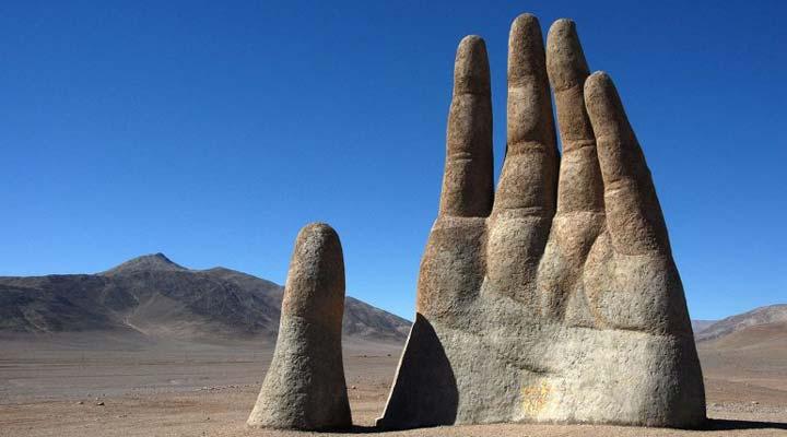 دست صحرا