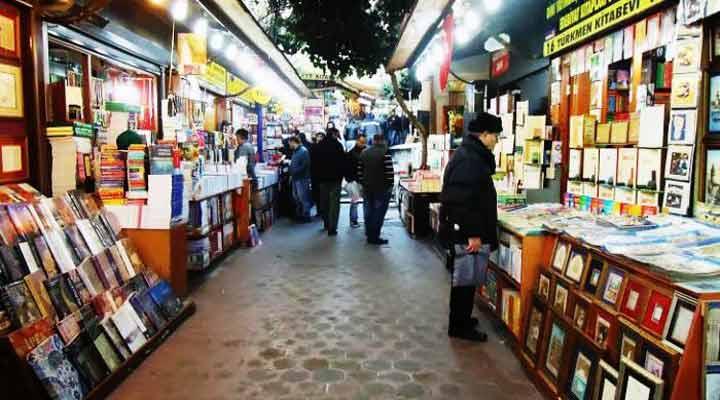 جاهای دیدنی ترکیه - بازار کتاب