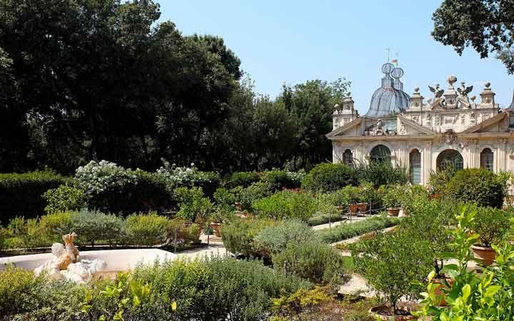 جاهای دیدنی رم - باغهای ویلای بورگِزه