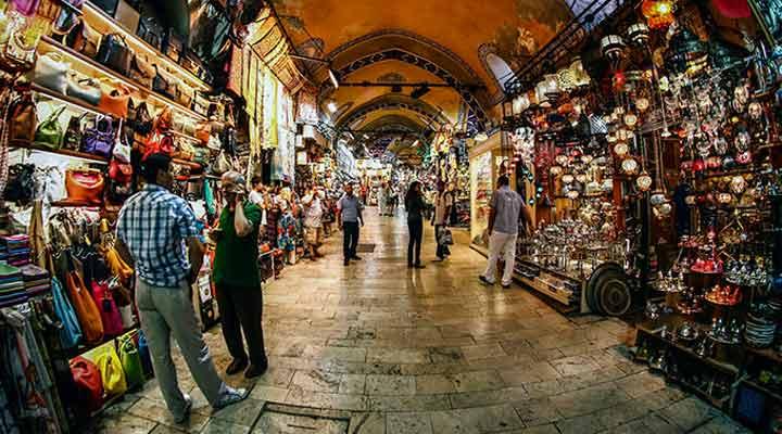 جاهای دیدنی ترکیه - بازار بزرگ