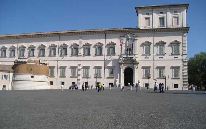 جاهای دیدنی رم - کاخ کوئیرینال