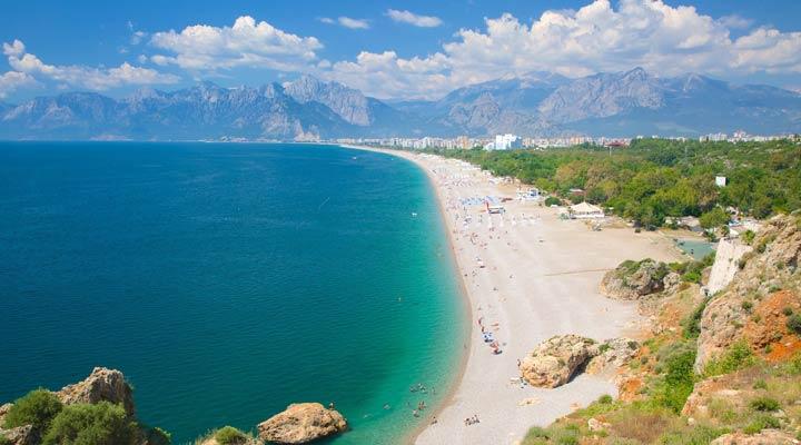 سواحل ترکیه - ساحل کُنیالتی