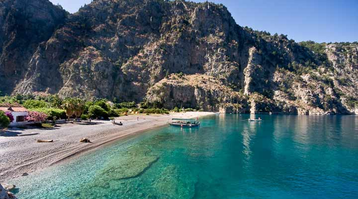 جاهای دیدنی ترکیه - درهی پروانه