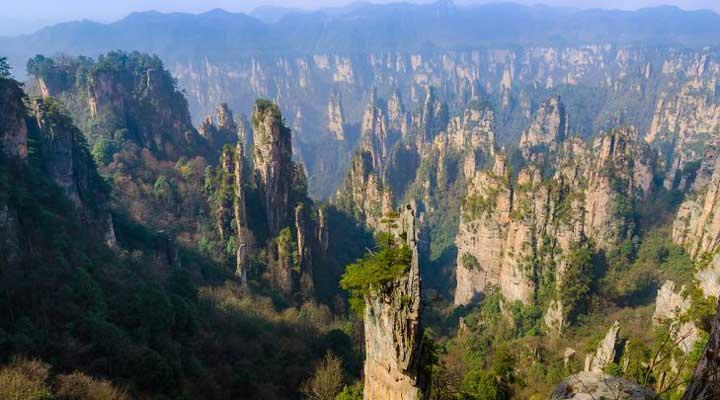 کوههای تیانزی