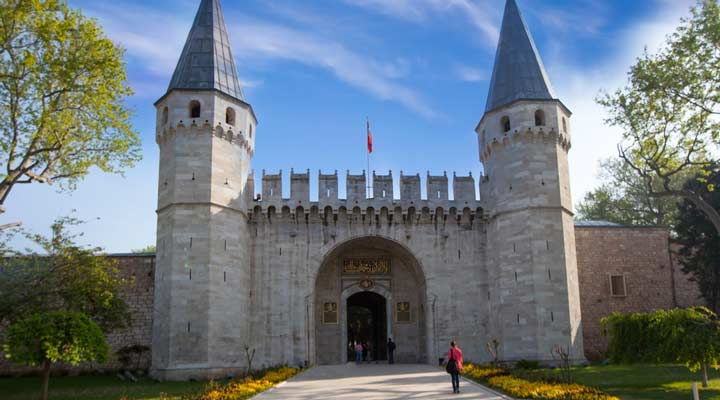 جاهای دیدنی ترکیه - کاخ توپقاپی