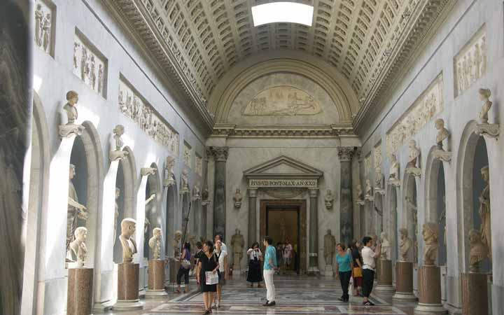 جاهای دیدنی رم - مجموعه موزههای واتیکان