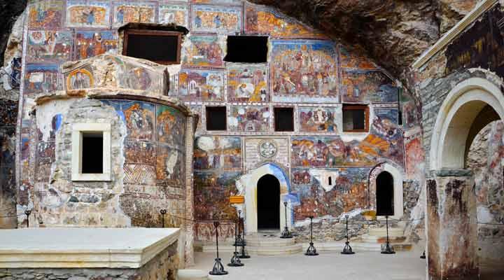 جاهای دیدنی ترکیه - صومعهی سومِلا