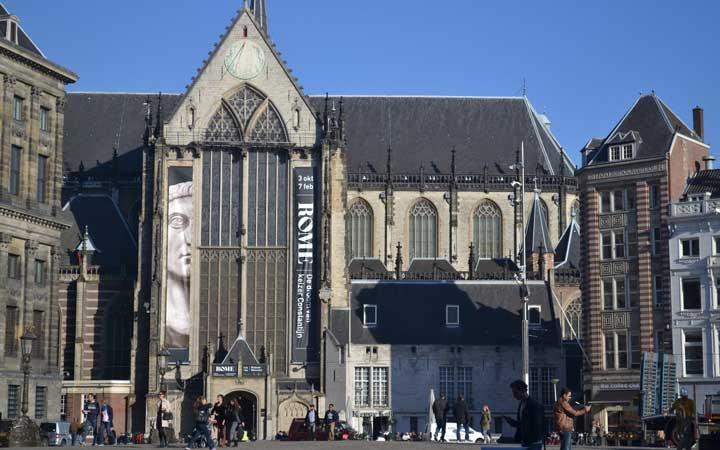 جاهای دیدنی آمستردام - کلیسای جدید