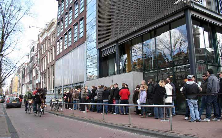 جاهای دیدنی آمستردام - موزه آن فرانک