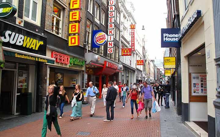 جاهای دیدنی آمستردام - خرید کردن در آمستردام