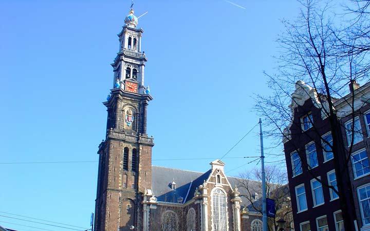 جاهای دیدنی آمستردام - کلیسای غربی