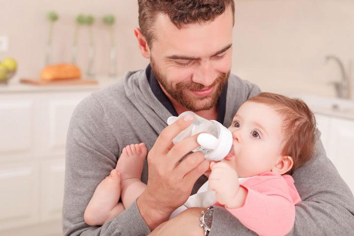 نفخ نوزاد+ روشهای درمان آن