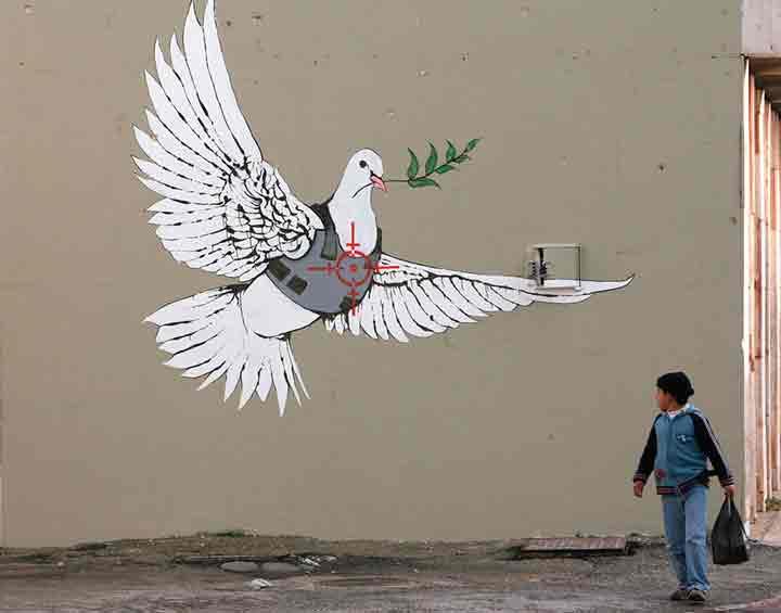 بیتلحم، گرافیتی۱