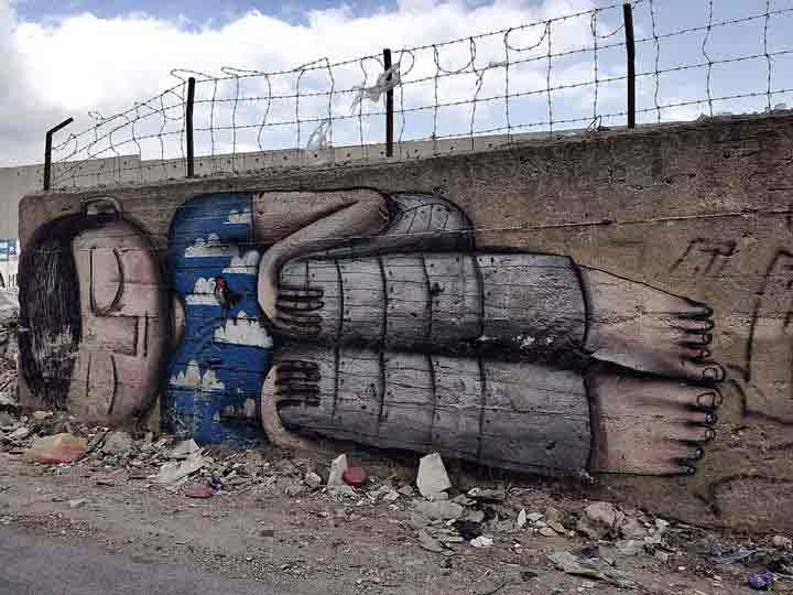 بیتلحم، گرافیتی۲