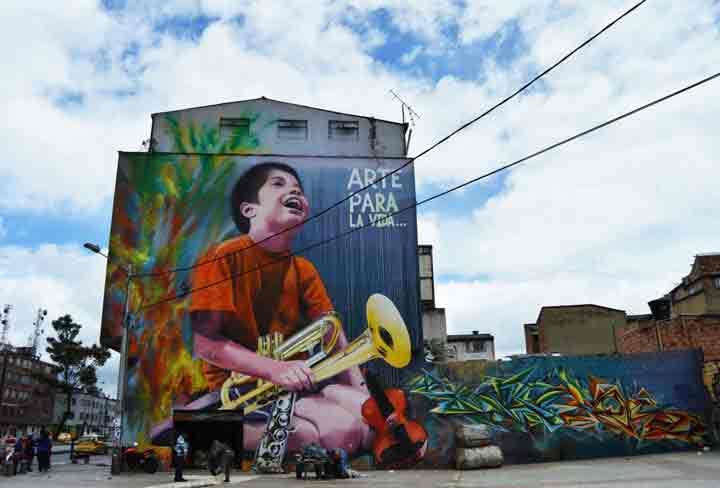 بوگوتا،گرافیتی۲