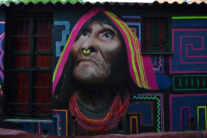 بوگوتا،گرافیتی۳