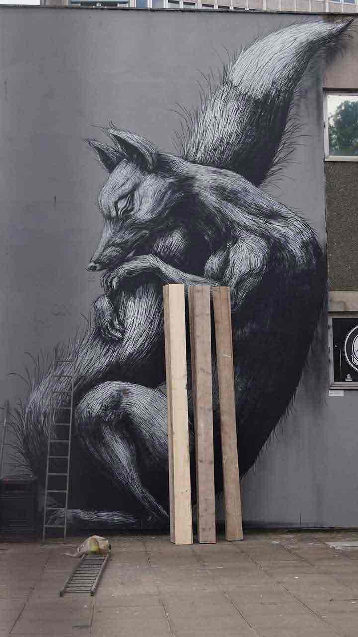 بریستول، گرافیتی۲