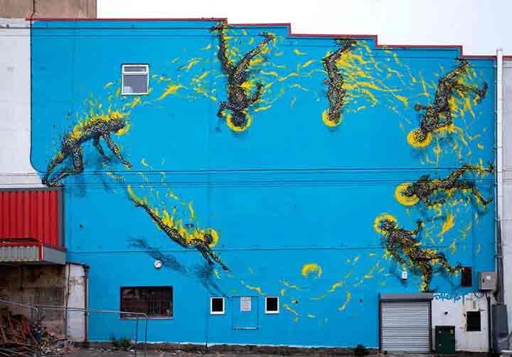 بریستول، گرافیتی۱