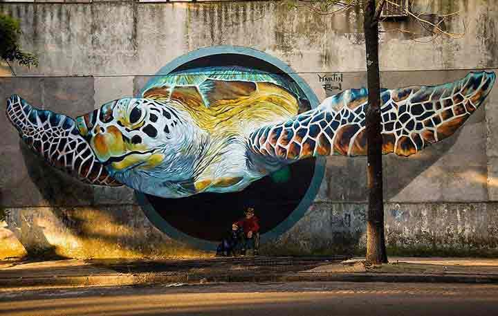 بوئنوسآیرس،گرافیتی۲