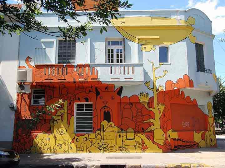 بوئنوسآیرس،گرافیتی۱