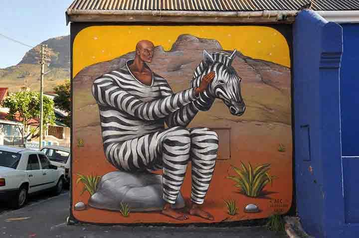 کیپتاون، گرافیتی