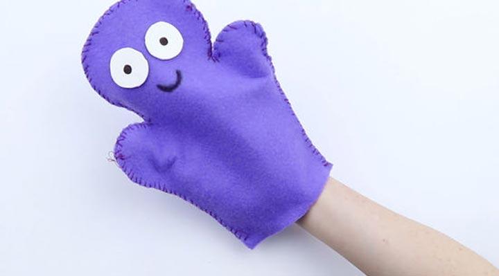 اسباب بازی کودک - عروسک دستی