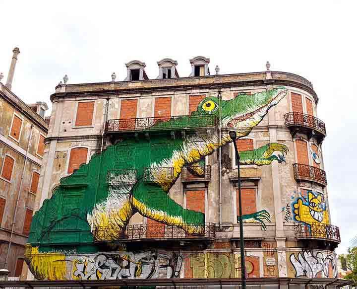 لیبسون،گرافیتی۳