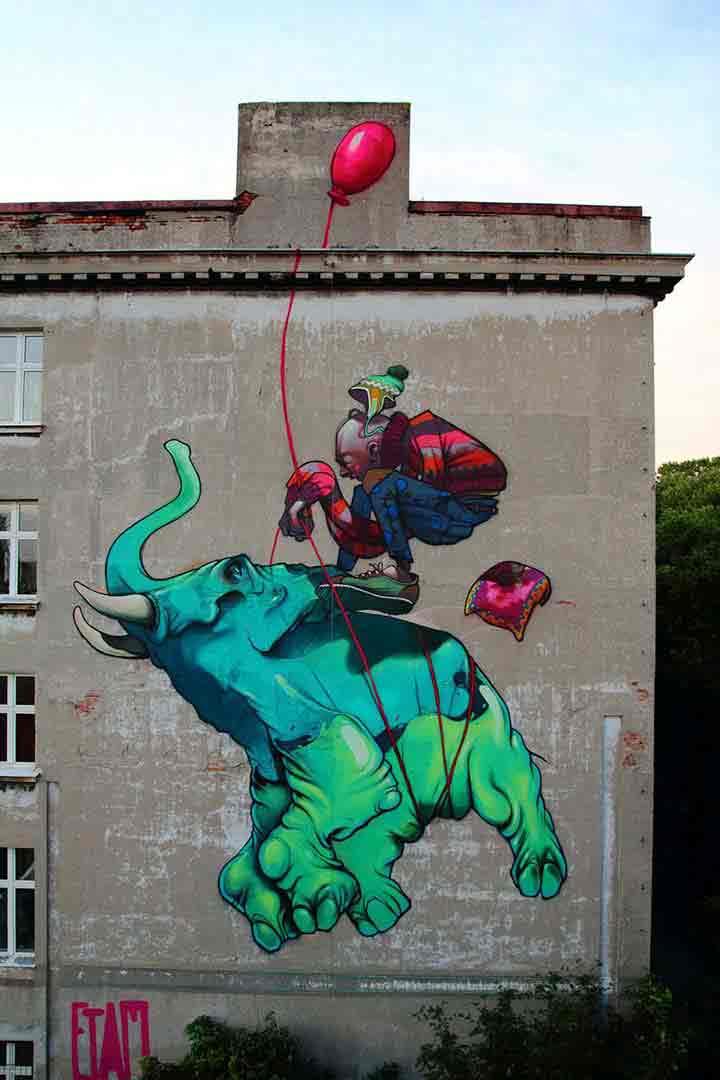 ووچ، گرافیتی۲