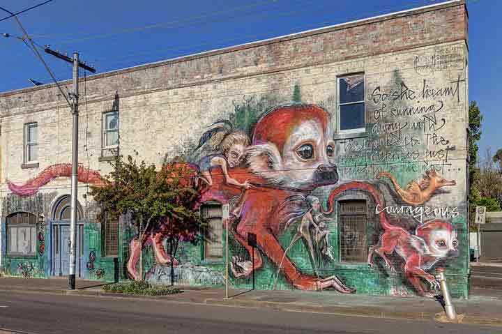 ملبورن،گرافیتی۳