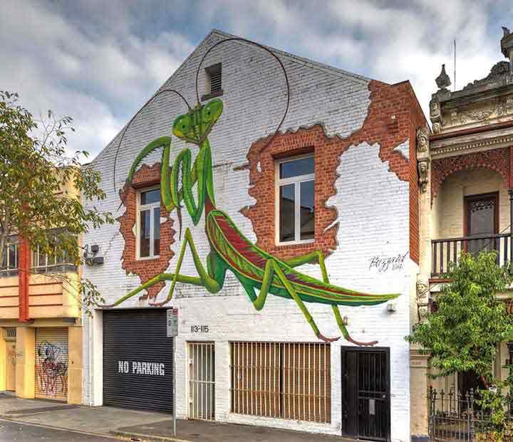 ملبورن،گرافیتی۱