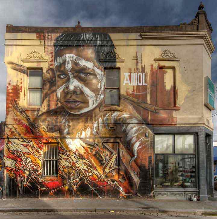 ملبورن،گرافیتی۲