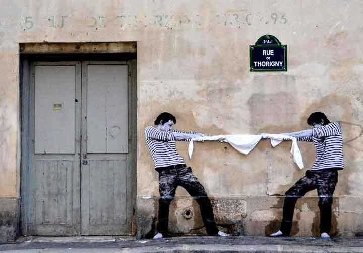 پاریس،گرافیتی۱