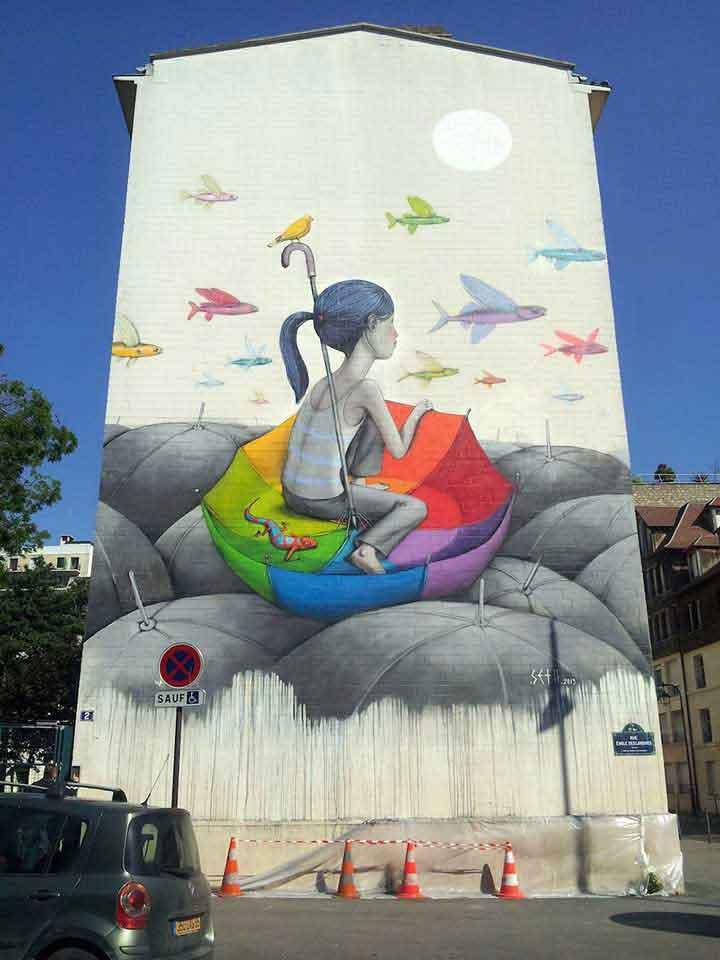 پاریس،گرافیتی۲